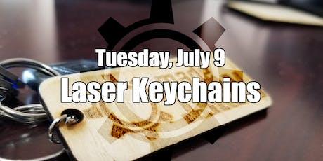 Laser Engraving Keychains tickets