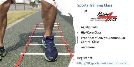 Hip/Core Class for Athletes tickets