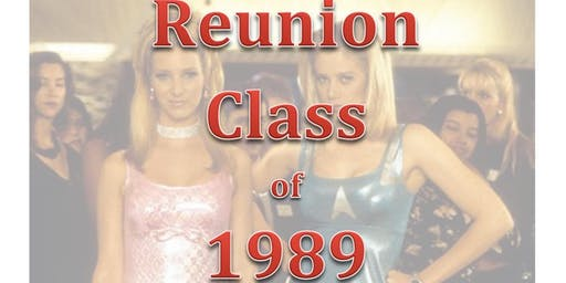 30th Reunion for class of 1989 Greenwood High