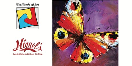 Fun Painting Night at California Mexican Cocina. FOOD & WINE INCLUDED! tickets