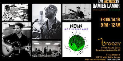 Friday Night Jazz at Breezy featuring Neon Motherboard