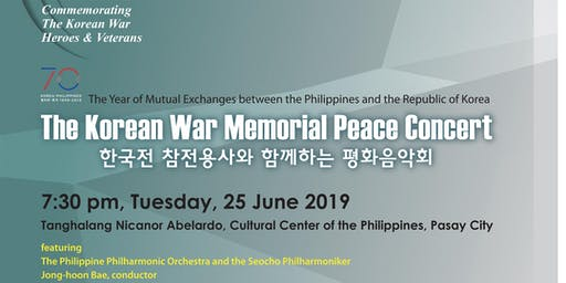 The Korean War Memorial Peace Concert