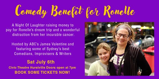 Comedy Benefit for Ronelle Knowles