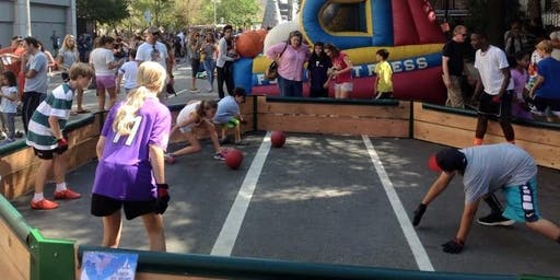 Westchester's First Gaga Ball Tournament