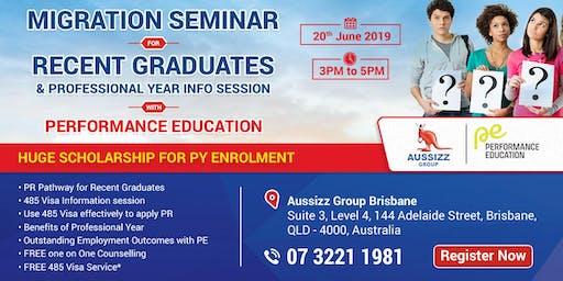 Free Seminar on Post Study Work Visa - Subclass 485 & Professional Year