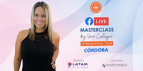 Masterclass: Como Alcancé los 100 MIL Seguidores by VeroSweetHobby #Córdoba entradas