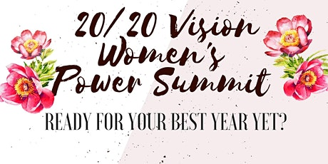 20/20 Vision Women's Power Summit tickets