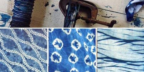 Advanced Shibori Indigo Dye Workshop  tickets