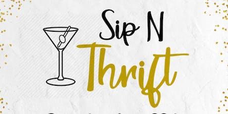 Sip & Thrift tickets