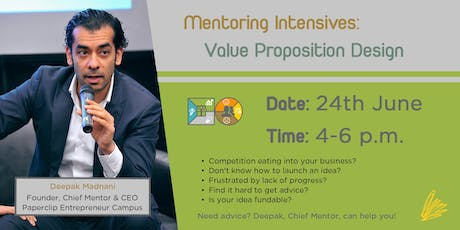 Mentoring Intensives: Value Proposition Design tickets