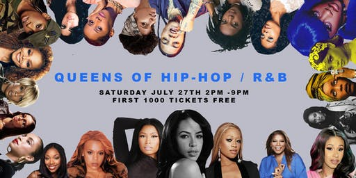 FREE EVENT : Queens of Hip-Hop and R&B