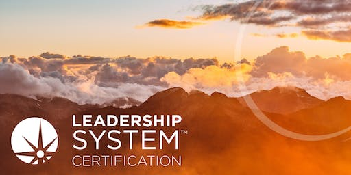 The Leadership System Certification - Amsterdam 2019