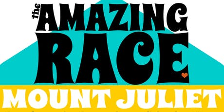6th Annual Amazing Race Mt. Juliet tickets