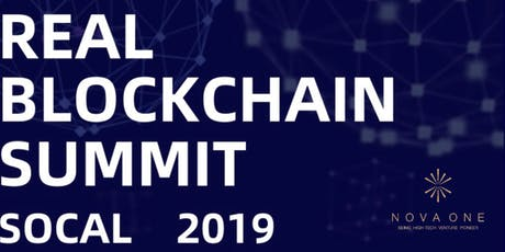 Real Blockchain Summit SoCal 2019 tickets