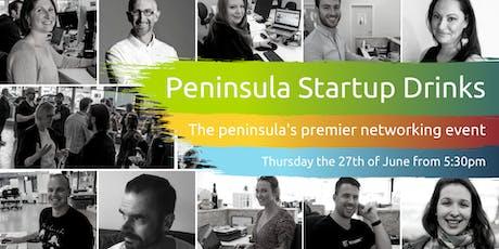 Peninsula Startup Drinks tickets
