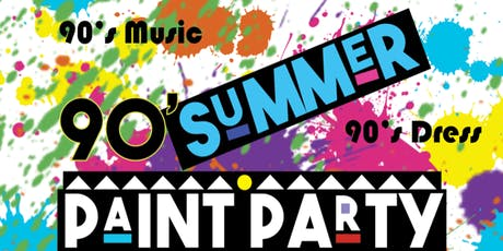 90's Summer Paint Party tickets