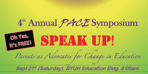 4th Annual PACE Symposium