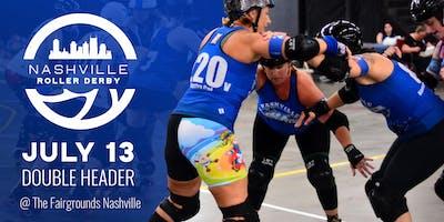 Nashville Roller Derby July 2019 Doubleheader