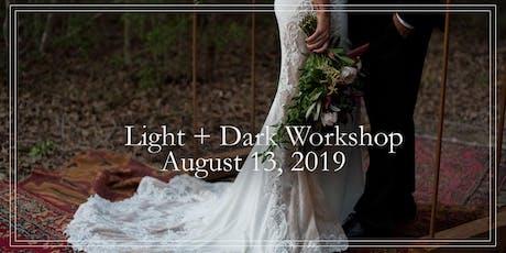 Wedding Photography Light+Dark Workshop tickets