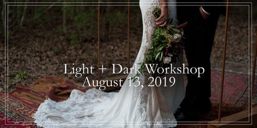 Wedding Photography Light+Dark Workshop