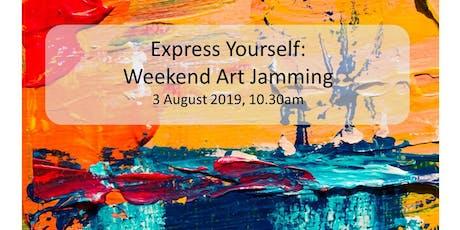 Weekend Art Jamming tickets