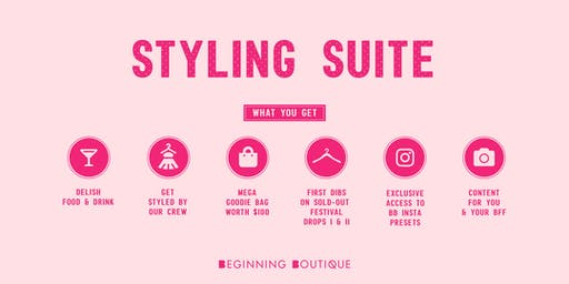 ☆ BEGINNING BOUTIQUE'S SPLENDOUR STYLING SUITE ☆