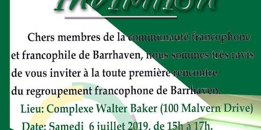 Regroupement des Francophones de barrhavean