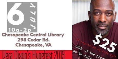 HypefestVA 2019Carl Kennedy's Actor Workshop tickets