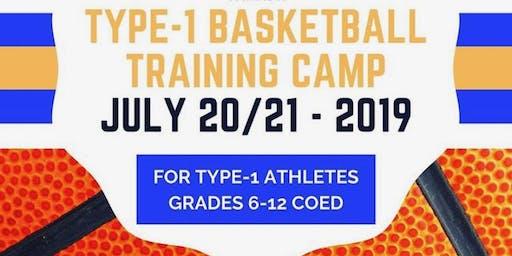 Athlete Registration: 2019 Type-1 Co-ed Basketball Training Camp & Fundraiser