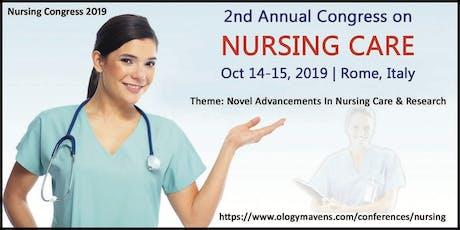 Nursing Conferences 2019 tickets