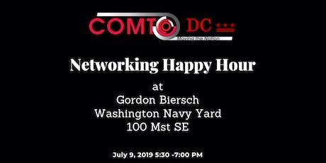 COMTO Networking Happy Hour at Gordon Biersch Brewery Restaurant tickets