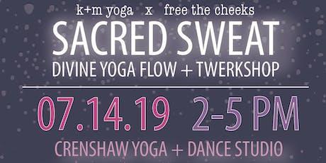 Sacred Sweat - Yoga + Twerk tickets