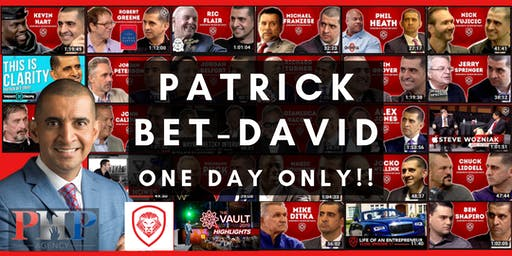 Patrick Bet-David: One Day Only!!