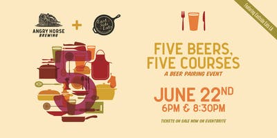 Five Beers, Five Courses: A Beer Pairing Event
