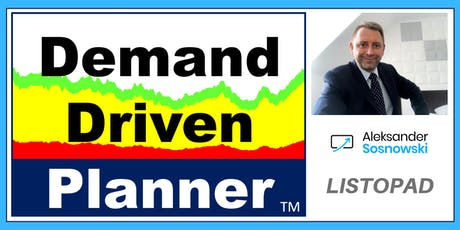 Listopad DDMRP - 2-dniowe szkolenie logistyczne - Demand Driven Planner tickets