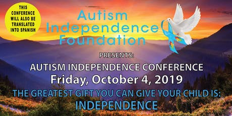 AUTISM INDEPENDENCE CONFERENCE tickets