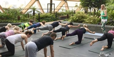 Summer Series: Rooftop Pilates with Sweaty Betty