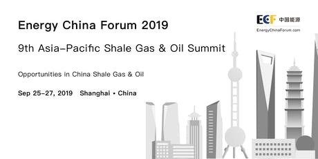 ECF2019 9th Asia-Pacific Shale Gas & Oil Summit tickets