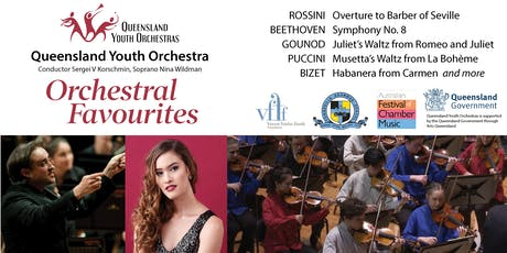 Orchestral Favourites: Queensland Youth Orchestra with Soprano Nina Wildman tickets