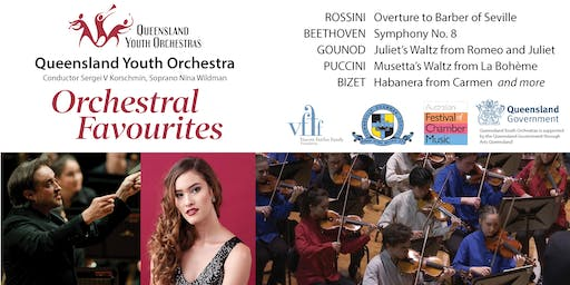 Orchestral Favourites: Queensland Youth Orchestra with Soprano Nina Wildman