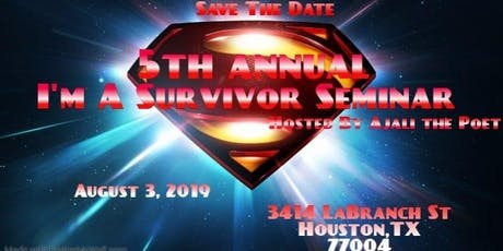 5th Annual I'm a Survivor Seminar tickets