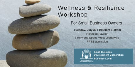 Wellness & Resilience for Small Business Owners  tickets
