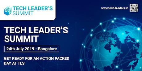 Tech Leader's Summit tickets