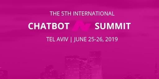 5th International Chatbot Summit - Tel Aviv, June 25, 2019 - Workshops