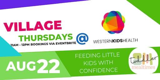 Village Thursday - Toddler Mealtimes
