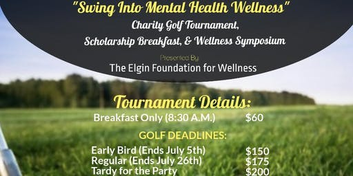 Swing Into Mental Health Wellness: Breakfast & Golf Tournament