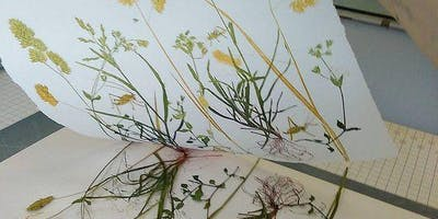 Art Summer School - Monoprinting with Nature
