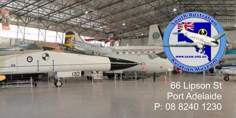 RAeS June Lecture - site visit to the South Australian Aviation Museum tickets