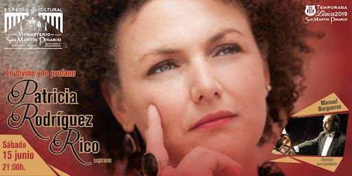 Recital de la soprano Patricia Rodríguez Rico