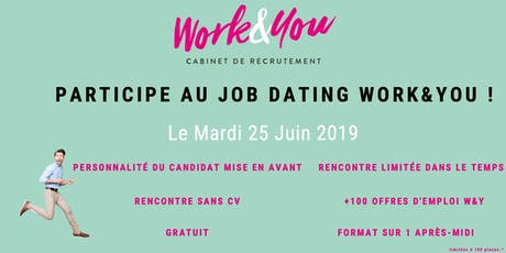 JOB DATING WORK&YOU billets